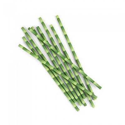 Kit Canudos Bamboo