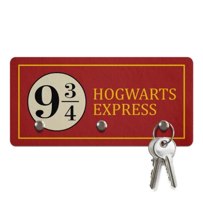 Porta Chaves - Plataforma 9 ¾ - Harry Potter
