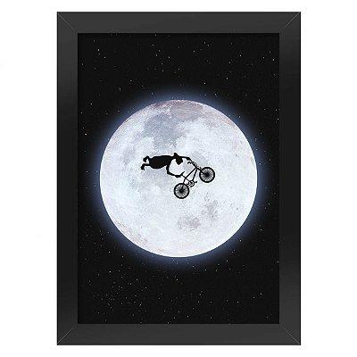Pôster com Moldura - E.T. O Extraterrestre