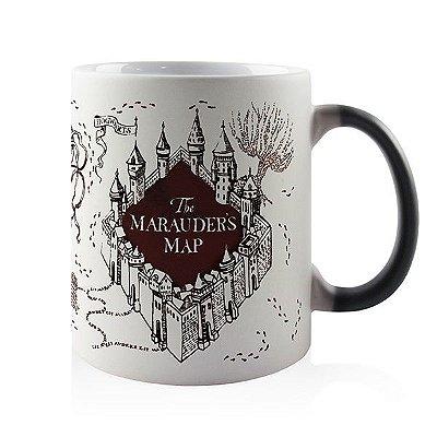 Caneca Mágica Termossensível - Harry Potter - Mapa Maroto