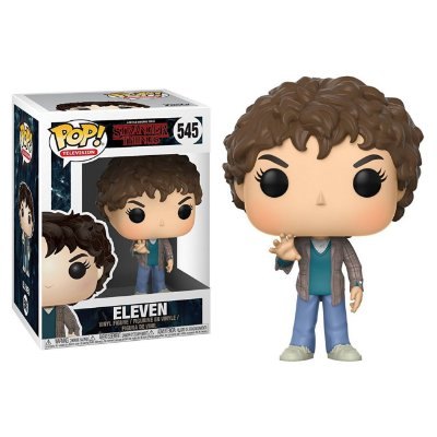 Eleven - Camisa Xadrez - Stranger Things - Funko Pop