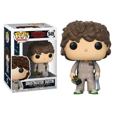 Dustin - Caça Fanstasma - Stranger Things - Funko Pop
