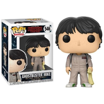 Mike - Caça Fantasma - Stranger Things - Funko Pop