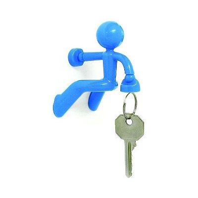 Porta Chaves Magnético - Alpinista Azul