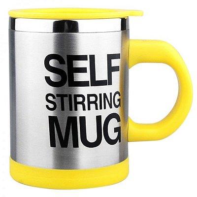 Caneca Mixer Self Mug - Amarelo