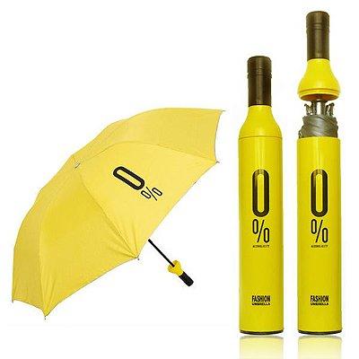 Guarda Chuva Garrafa - Amarelo