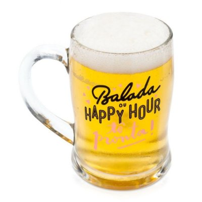 Caneco Chopp Termossensível - Happy Hour Tô Pronta
