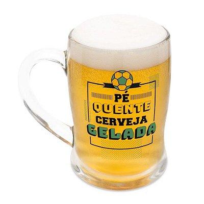 Caneco Chop Termossensível - Pé Quente Cerveja Gelada