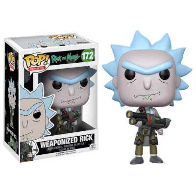 Rick Hipnotizado - Ricky and Morty - Funko Pop