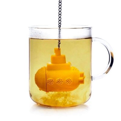 Infusor de Chá Submarino - Yellow Submarine
