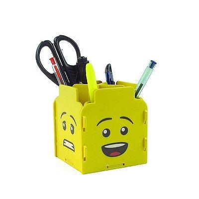 Porta Treco - Rostos de Lego