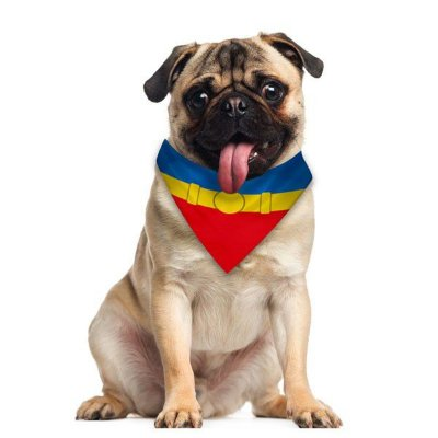 Bandana Pet - Super Homem PP