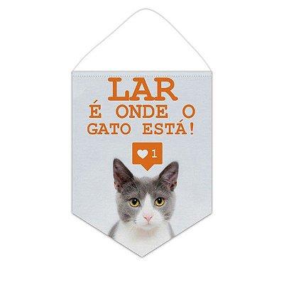 Bandeirola / Flâmula - Lar é onde o Gato Está