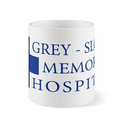 Caneca Grey Sloan Memorial - Grey's Anatomy
