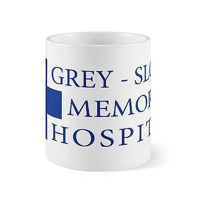 Caneca Grey Sloan Memorial - Grey's Anatomy