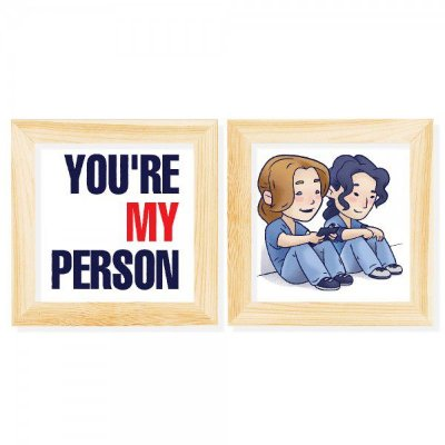 Kit Quadros You're my Person - Grey's Anatomy