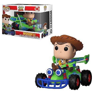 Woody com carrinho RC - Toy Story - Funko Pop