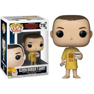 Eleven com Camiseta de Hamburguer - Stranger Things