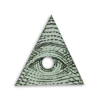 Adesivo Olho Mágivo Iluminati