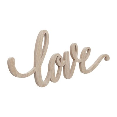 Placa Decorativa Letras Love Lettering Mdf 40cm