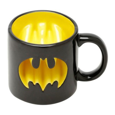 Caneca Batman Vazada DC Comics 320ml