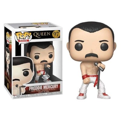 Freddie Mercury - Queen - Funko Pop Diamond Collection