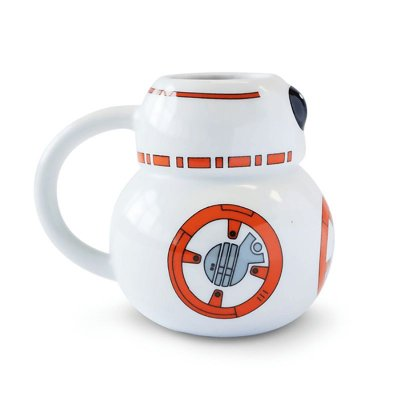 Caneca BB8 3D - Star Wars