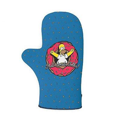 Luva de Cozinha Homer Donuts - Os Simpsons