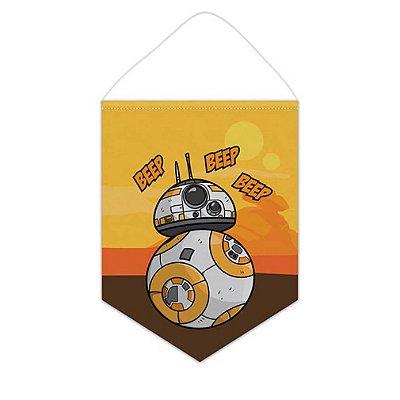 Bandeirola / Flâmula - BB8 - Star Wars
