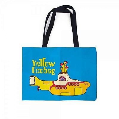 Sacola Bolsa Ecobag - Yellow Submarine