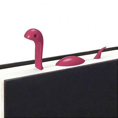 Marcador de Livro - Monstro do Lago Ness - Pink