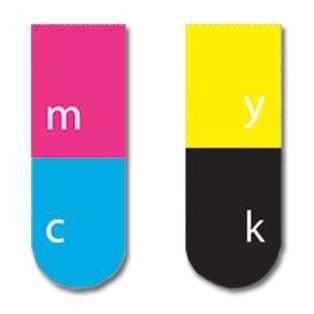 Marcador de Página Magnético - CMYK