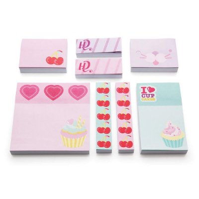 Kit Post-it de Anotações Cupcake - Capricho