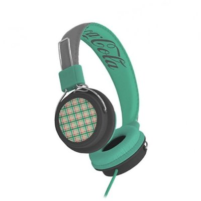 Headphone Green - Coca Cola