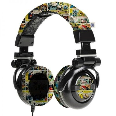 Headphone Quadrinhos - DC Comics
