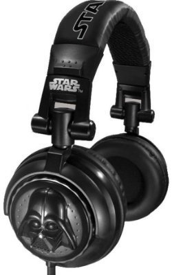 Headphone Darth Vader DJ Stereo - Star Wars
