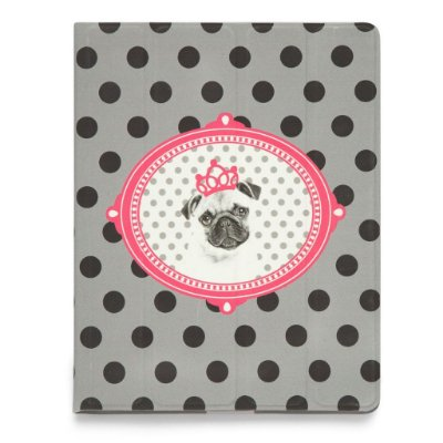 Case iPad - Princess Pug