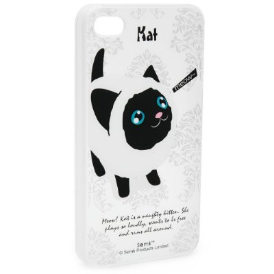 Case iPhone 4/4S Black Kat