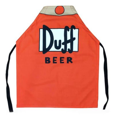 Avental - Duff Beer - Os Simpsons