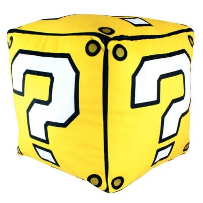 Almofada Cubo Interrogação - Mario Bros