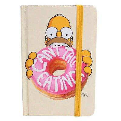 Caderneta Homer Donut - Os Simpsons - 14cm