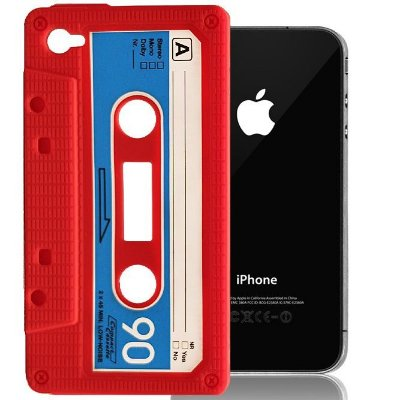 Case iPhone 4/4S k7 Red