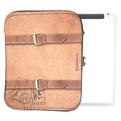 Case iPad - Estampa Couro