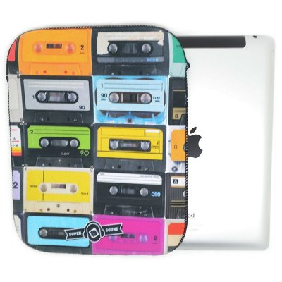 Case iPad - Fita k7
