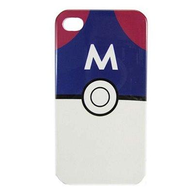 Case iPhone 4/4S - Pokebola Masterball