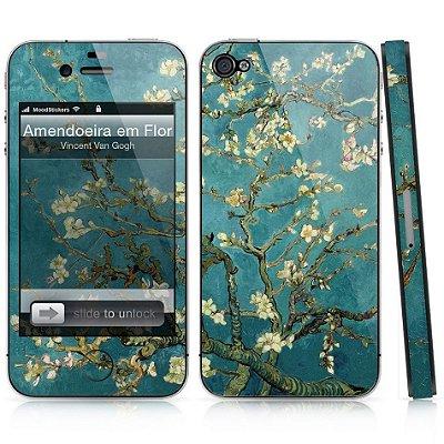 Adesivo para iPhone 4/4S - Amendoeira em Flor