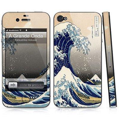 Adesivo para iPhone 4/4S - A Grande Onda