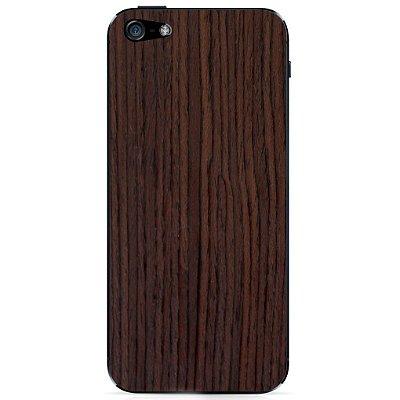 Adesivo Wood Liso Jacarandá Catedral - iPhone 5/5S