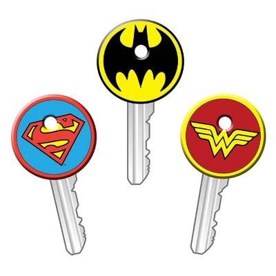 Capa de Chave - Heróis DC Comics