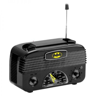Rádio Retrô AM/FM Batman - DC Comics